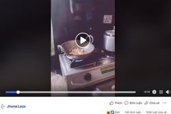 Sự thật về clip nổ bỏng ngô bằng chảo đạt hơn 4,6 triệu view của gái 'đảm'