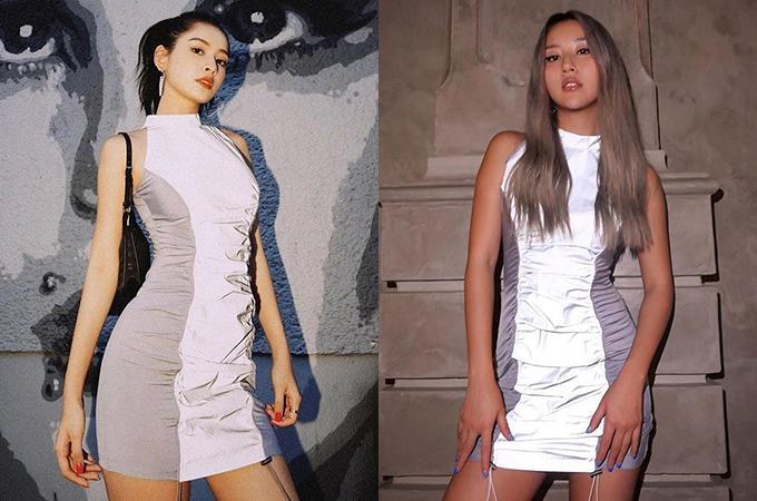 Chi Pu ăn đứt độ sexy khi mặc đồ mượn Quỳnh Anh Shyn-5