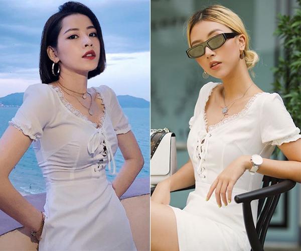 Chi Pu ăn đứt độ sexy khi mặc đồ mượn Quỳnh Anh Shyn-6