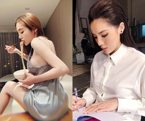 Elly Trần khoe ảnh lả lơi, dân mạng hết hồn dụi mắt vì tưởng nhầm Hoa hậu Kỳ Duyên-2