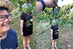 Nhờ con trai chụp ảnh 'sống ảo', bà mẹ giận tím mặt khi nhìn thành quả