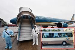 Đã tìm được 6 người nhập cảnh từ chuyến bay của Vietnam Airlines có khách Nhật Bản nhiễm virus corona