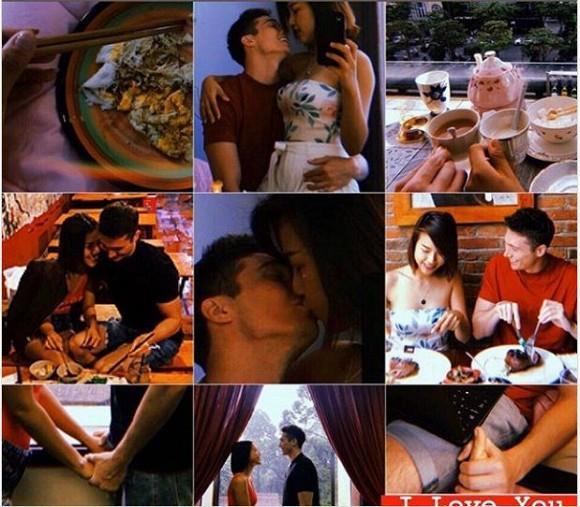 MC Hoàng Oanh đăng loạt ảnh hạnh phúc bên chồng Tây-1