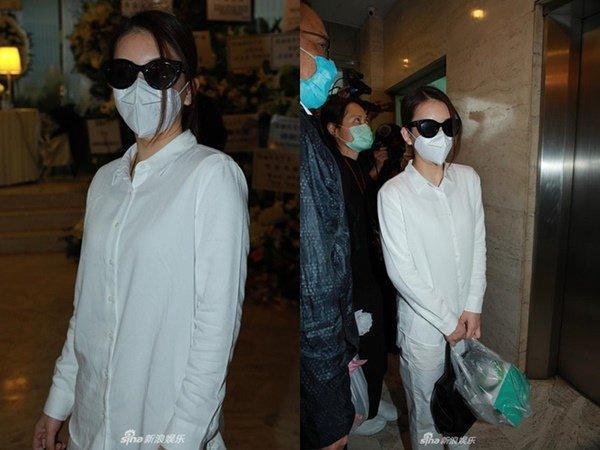 Đám tang mẹ Thiên vương Quách Phú Thành: Con trai, con dâu đeo khẩu trang, quan khách thưa thớt-3