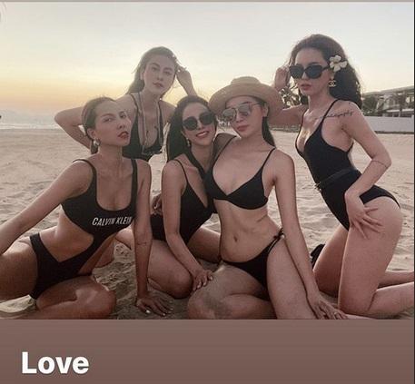 Ăn chơi như hội bạn thân Kỳ Duyên: Diện dresscode bikini mà từ mẹ bỉm đến gái xuân đều sexy hết cỡ-3