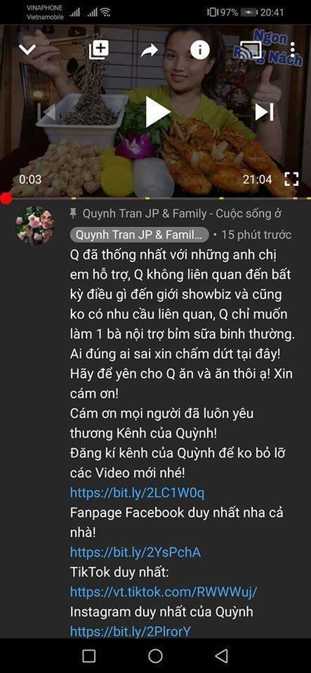 Dân mạng kêu gọi tẩy chay Quỳnh Trần JP sau phát ngôn chối tội, kệ quản lý dìm Lyly đến cùng-3