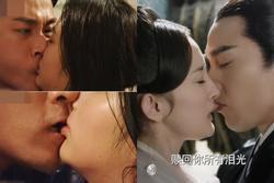 Chồng cũ Dương Mịch đứng đầu danh sách mỹ nam có cảnh hôn làm đau bạn diễn