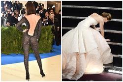 Váy làm chảy máu và loạt trang phục báo hại người nổi tiếng