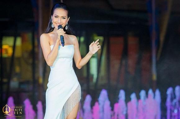Hoài Sa tỏa sáng tại bán kết Hoa hậu Chuyển giới, đâu ngại mặc lại đồ cũ của Hoàng Thùy-12
