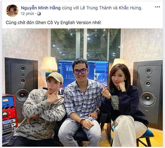 Khắc Hưng - Min - Erik tung thính, xác nhận Ghen Cô Vy sẽ có phiên bản tiếng Anh dự báo gây bão toàn cầu-1