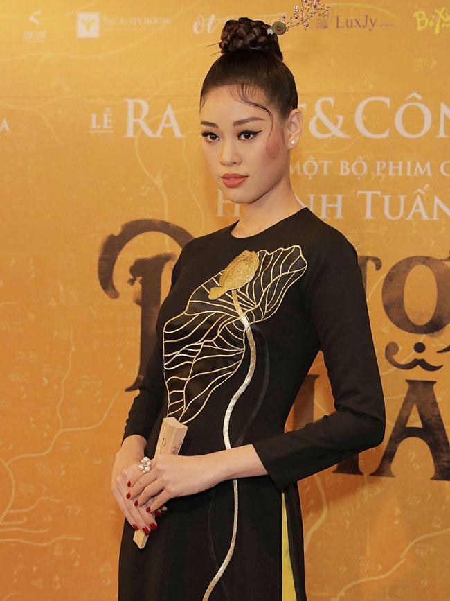 Hoa hậu hoàn vũ Khánh Vân: Dù chỉ xuất hiện 1 giây trong Phượng Khấu cũng sẽ cố gắng hết mình-1