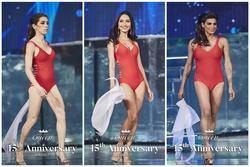 Bán kết Hoa hậu Chuyển giới Quốc tế: Thí sinh catwalk như robot, body vẫn đậm nét đàn ông