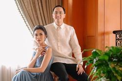 Cưới 8 năm và 2 con chung, vợ chồng Tăng Thanh Hà vẫn giữ thói quen 'tỏ tình' trên mạng xã hội