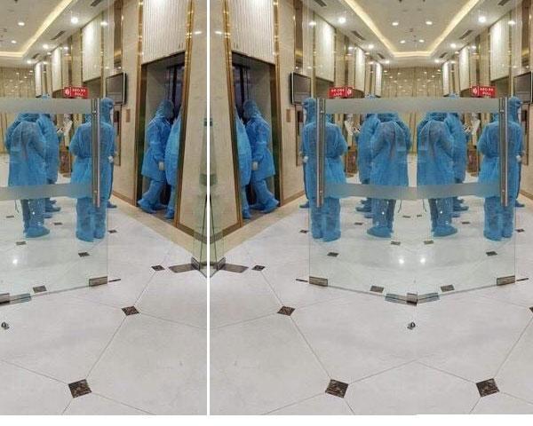 Nhiều chung cư ở Hà Nội dán thông báo nhanh về ca nghi nhiễm virus corona, phố Trúc Bạch nhiều người dân sơ tán-7