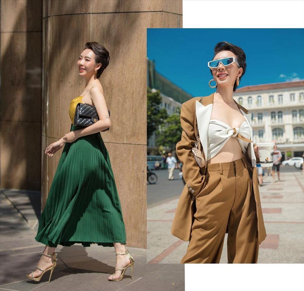 Từ bao giờ hoa hậu hài Thu Trang lại bớt phèn, sành điệu dát đầy hàng hiệu thế này?-5
