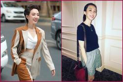 Từ bao giờ 'hoa hậu hài' Thu Trang lại 'bớt phèn', sành điệu dát đầy hàng hiệu thế này?