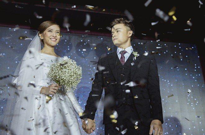 Đám cưới cổ tích xúc động của BTV Thời sự VTV Cẩm Tú và trai đẹp Người Ấy Là Ai-7