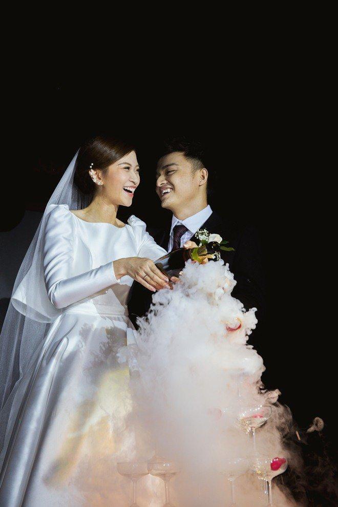 Đám cưới cổ tích xúc động của BTV Thời sự VTV Cẩm Tú và trai đẹp Người Ấy Là Ai-8