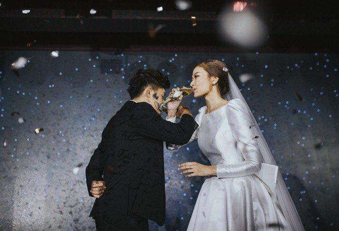 Đám cưới cổ tích xúc động của BTV Thời sự VTV Cẩm Tú và trai đẹp Người Ấy Là Ai-9
