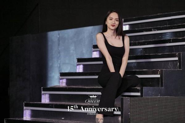 Đọ sắc cùng dàn người đẹp Miss International Queen, Hương Giang bị makeup dìm, lộ rõ mặt hốc hác-3