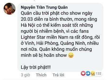 Giữa tâm bão Covid-19, Nguyễn Trần Trung Quân bị chỉ trích khi cầu trời phật cho show ở Hà Nội không bị hủy-4