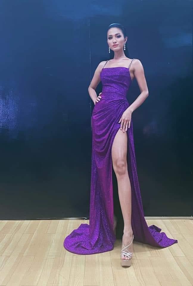 Lộ diện đầm dạ hội tuyệt đẹp của Hoài Sa, cực hợp với vương miện Hoa hậu Chuyển giới 2020 tối nay-2