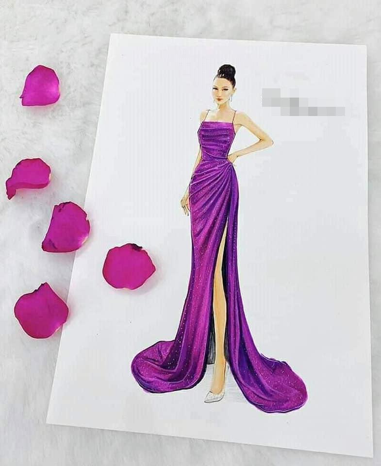 Lộ diện đầm dạ hội tuyệt đẹp của Hoài Sa, cực hợp với vương miện Hoa hậu Chuyển giới 2020 tối nay-3