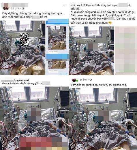 Sự thật về ca nhiễm Covid thứ 17 đang nằm lọc máu - đeo ống thở tại bệnh viện-2