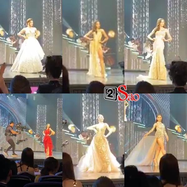 Hoài Sa và 20 thí sinh trình diễn trang phục dạ hội-5