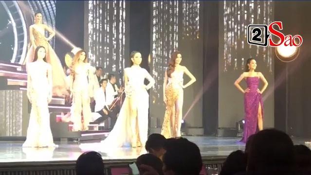 Hoài Sa và 20 thí sinh trình diễn trang phục dạ hội-2