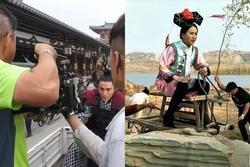 Đằng sau cảnh cưỡi ngựa trong phim cổ trang Trung Quốc