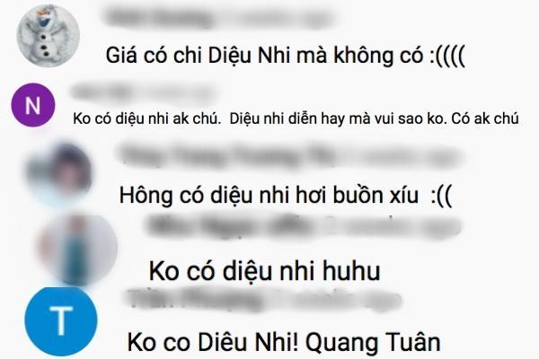Diệu Nhi được réo tên khi không có mặt ở Gia đình là số 1 phần 3 bản Việt-10