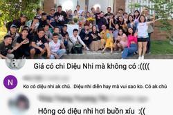 Diệu Nhi được réo tên khi không có mặt ở 'Gia đình là số 1' phần 3 bản Việt