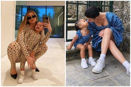 Nữ tỷ phú sexy nhất Hollywood diện đồ đồng điệu bên con gái, ai ngờ bé còn 'hot' hơn cả mẹ