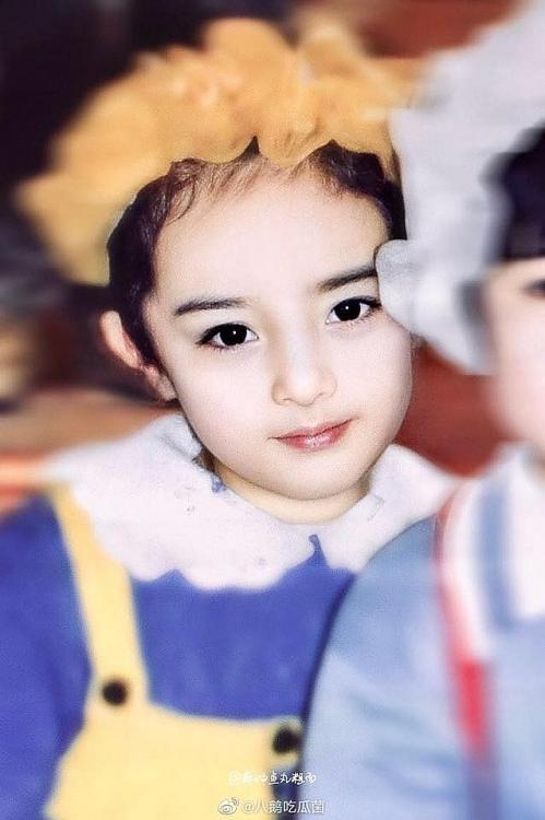 Ảnh thời thơ ấu của Dương Mịch được hé lộ, xứng danh mỹ nhân đẹp từ trong trứng khiến Cnet phải xuýt xoa-6