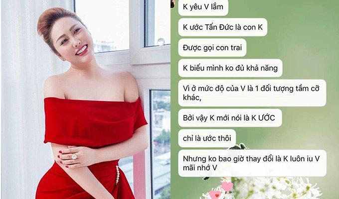 Phi Thanh Vân được chàng trai kém 13 tuổi tỏ tình-1