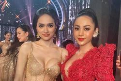 Hoa hậu Hương Giang lộ vòng 1 'bên phồng bên xẹp' và cả nội y thấp thoáng
