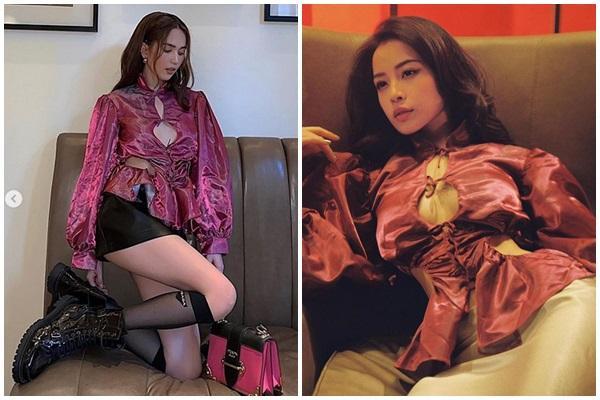 Cùng diện 1 chiếc áo khoét ngực: Chi Pu được ví như ảnh mạng - Ngọc Trinh thành thảm họa online-8