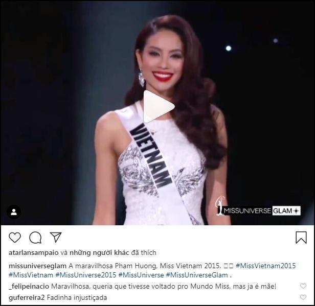 Bản tin Hoa hậu Hoàn vũ 9/3: Khán giả quốc tế muốn ủng hộ Phạm Hương thì cũng quá muộn rồi!-1