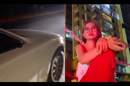 Ngọc Lan muốn khóc giữa đêm vì chiếc Mercedes bị trộm bẻ mất gương chiếu hậu