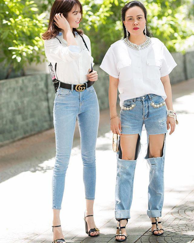 Bộ sưu tập những chiếc quần jeans rách toang, mặc lần nào thảm họa lần đấy của Phượng Chanel-4