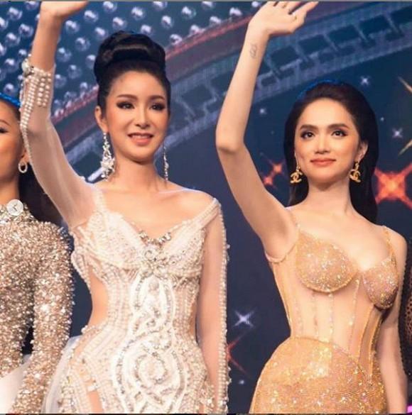 Hoa hậu Chuyển giới Quốc tế 2007 bày tỏ sự ngưỡng mộ với Hương Giang-2