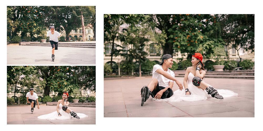 Cặp đôi khuyết tật nổi đình đám MXH Việt khoe ảnh cưới nét căng, đông đảo dân mạng chúc phúc-5