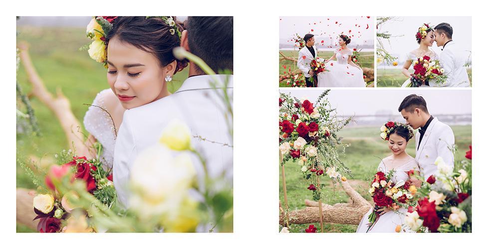 Cặp đôi khuyết tật nổi đình đám MXH Việt khoe ảnh cưới nét căng, đông đảo dân mạng chúc phúc-4