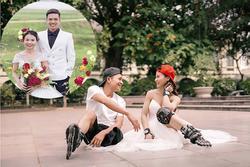 Cặp đôi khuyết tật nổi đình đám MXH Việt khoe ảnh cưới nét căng, đông đảo dân mạng chúc phúc