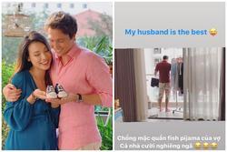 MC Hoàng Oanh bất ngờ 'bêu xấu' chồng trên mạng xã hội