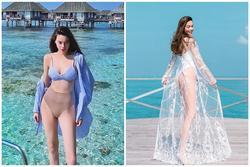 3 chiêu mặc bikini 'cao tay' của Hà Hồ