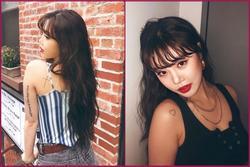 Nữ ca sĩ Hàn Quốc bị fan phát hiện xăm nhiều hình trên cơ thể