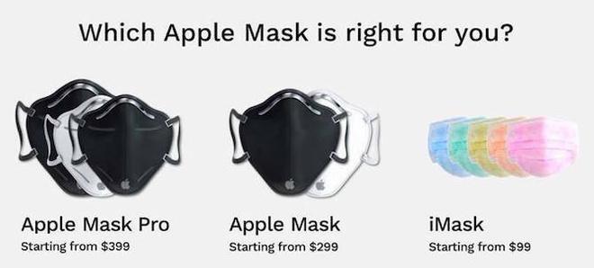 Ý tưởng khẩu trang Apple phòng dịch Covid-19, có giá từ 99 USD-2