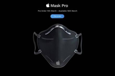 Ý tưởng khẩu trang Apple phòng dịch Covid-19, có giá từ 99 USD